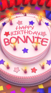 Happy birthday bonnie gifts on zazzle ca bonnies birthday cake cover for iphone 5c publicscrutiny Image collections