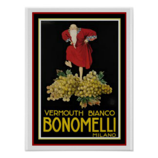 Bonomelli 12 x 16 Poster by Leonetto Cappiello