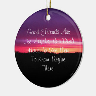 Bons amis - ornement