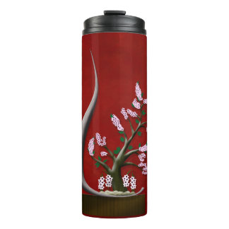 Bonsai Blossom Thermal Tumbler