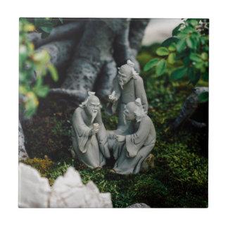 Bonsai Figurines Tile