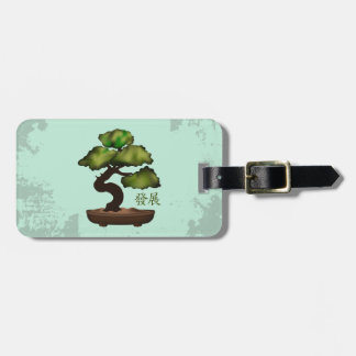 "Bonsai ""Growth"" Luggage Tag"