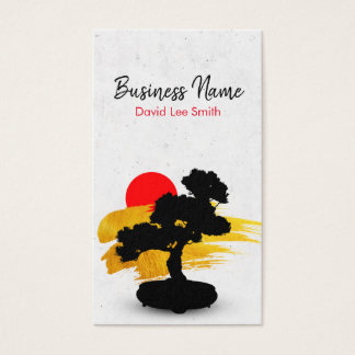 Bonsai/Landscape Business Card