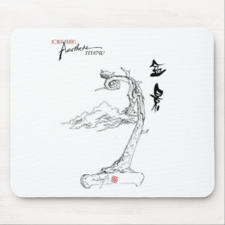 Bonsai Sketch Mouse-pad by Robert Steven9 Mouse Pad
