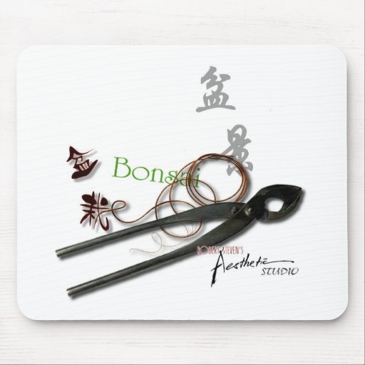 Bonsai Tool Mouse-pad by Robert Steven Mouse Pads