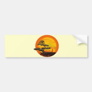 Bonsai Tree Bumper Sticker
