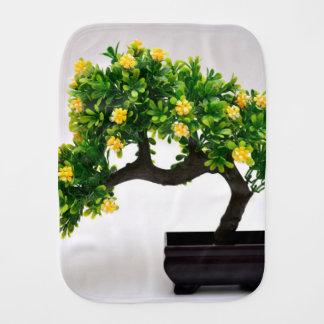 Bonsai tree burp cloth