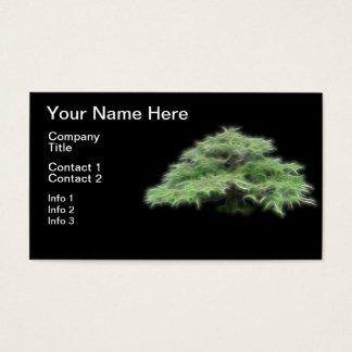 Bonsai Tree Green Plant Business Card