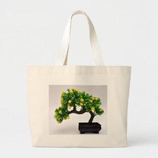 Bonsai tree large tote bag