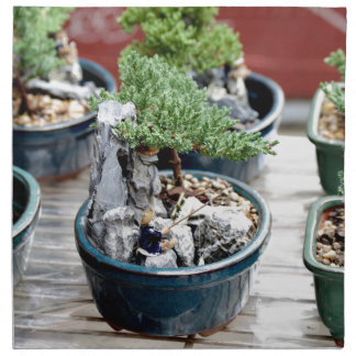 Bonsai Tree Napkin