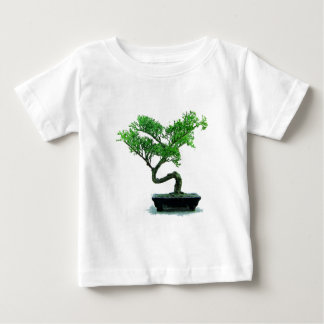 bonsai-tree Painting Baby T-Shirt
