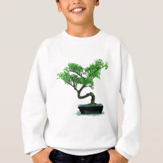 bonsai-tree Painting Sweatshirt