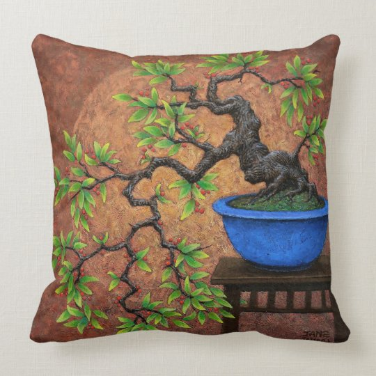 Bonsai Tree Pillow