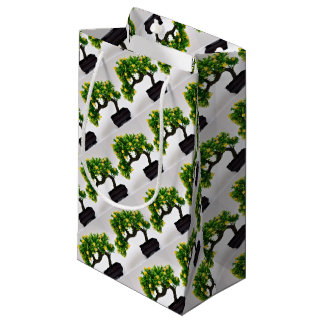 Bonsai tree small gift bag