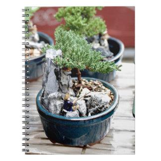 Bonsai Tree Spiral Notebook