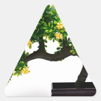 Bonsai tree triangle sticker