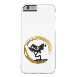 Bonsai Tree. Zen Enso Circle. Watercolor Art Barely There iPhone 6 Case