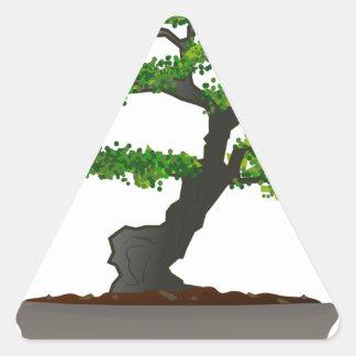 Bonsai Triangle Sticker