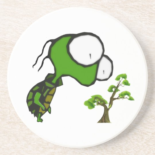 Bonsai Turtle Coaster