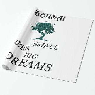 Bonsai Wrapping Paper