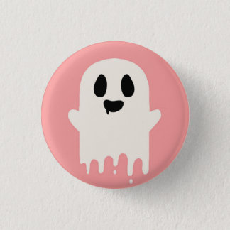 Boo 1 Inch Round Button