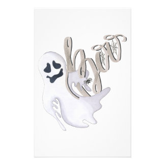 Boo and Ghost Stationery