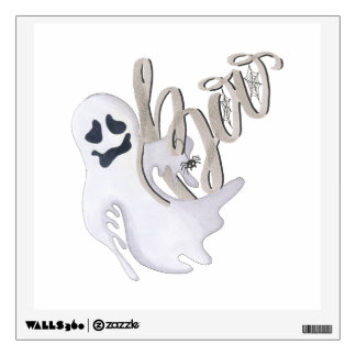 Boo and Ghost Wall Sticker