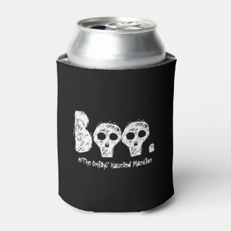 Boo. At the Haunted Mansion. Can Cooler
