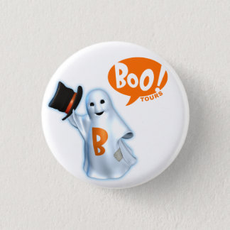 Boo Badge 1 Inch Round Button