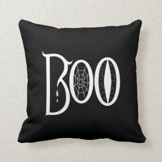 BOO! Black Pillow