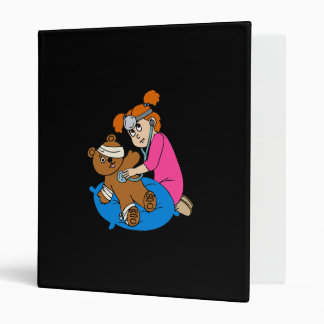 Boo-Boo Bear & Kid Doctor Vinyl Binder