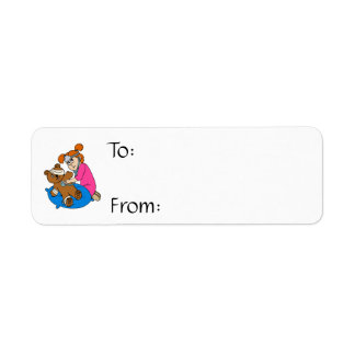 Boo-Boo Bear & Kid Doctor Return Address Label
