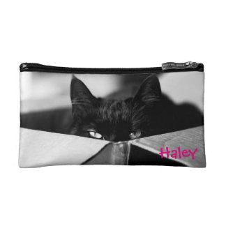 Boo Boo Black Kitty Cosmetic Bag