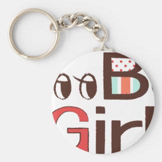 Boo Boo Girl Keychain