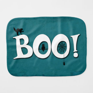 Boo! Burp Cloth