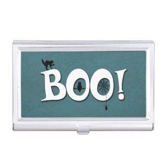 Boo! Business Card Holder