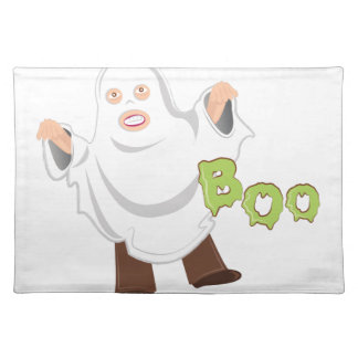Boo Costume Place Mats