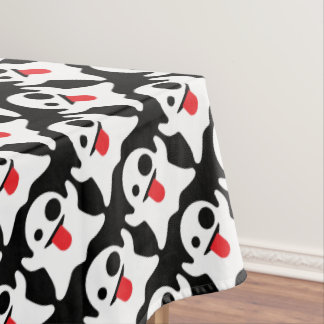 Boo Emoji Ghost Tablecloth