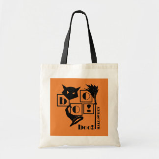 Boo! Fun Halloween Gift Tote Bags