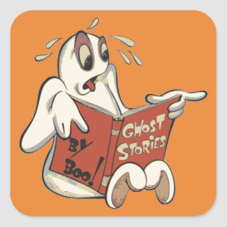 Boo Ghost Stories stickers