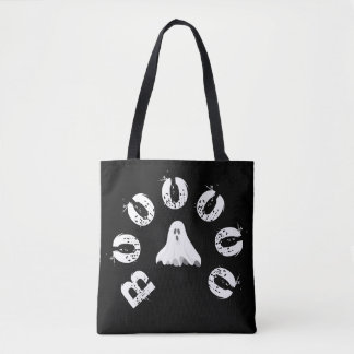 Boo ghost tote bag