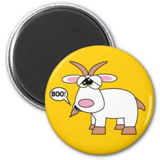 Boo! Goat Magnet