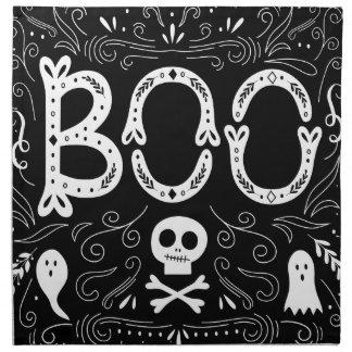 BOO Halloween Cloth Napkins