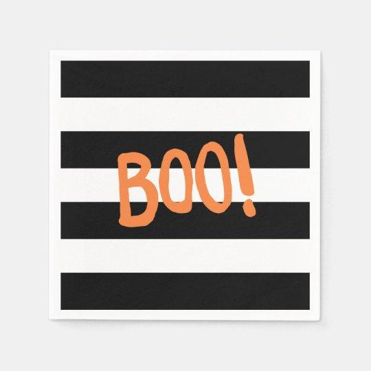 Boo! | Halloween Napkins Paper Napkin