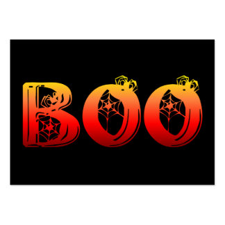 Boo Halloween Pack Of Chubby Business Cards