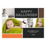 BOO!   HALLOWEEN PHOTO CARDS INVITE