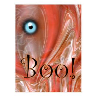 Boo! Halloween Postcard