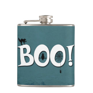Boo! Hip Flask