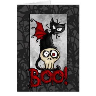 Boo kitty card