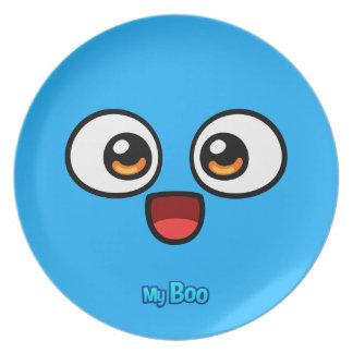 Boo Melamine Plate